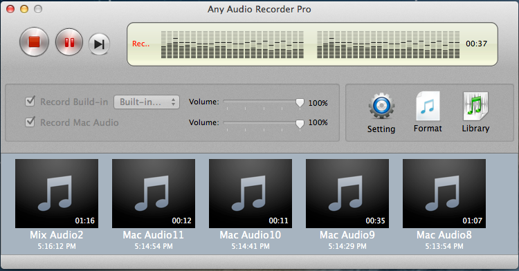 Any Audio Recorder Pro | David Team