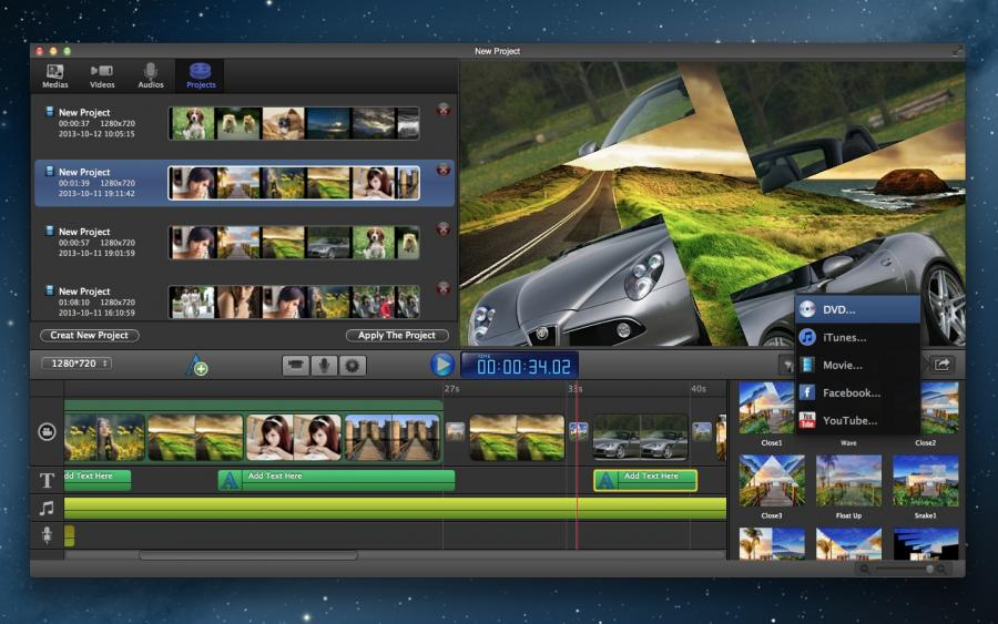 how to make a slideshow on mac without iphoto